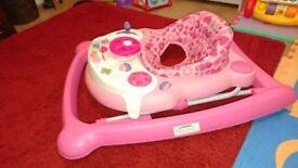 Baby walker pink graco