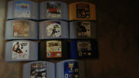 N64 games(29), console, 5 controllers