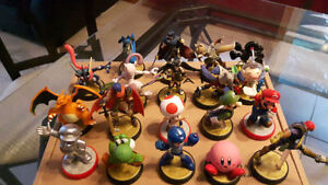 Lot of 19 Amiibo for Sale