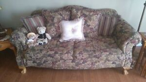 Couch, love seat and recliner