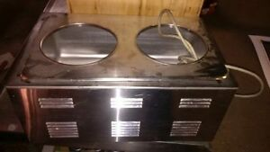 counter top food warmer stainless steel