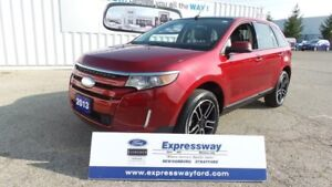2013 Ford Edge SEL, AWD, Lthr, Moon, Nav, Local Trade
