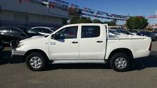 2009 Toyota Hilux KUN26R 09 Upgrade SR (4x4) White 5 Speed Manual Dual Cab Pick-up Maddington Gosnells Area Preview