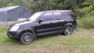 2004 Honda CR-V LX SUV, Crossover