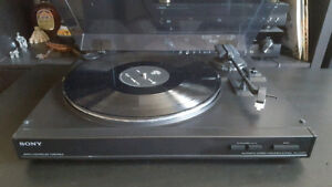 Sony PS-LX150H turntable table tournante New Stylus Aiguile Neuf