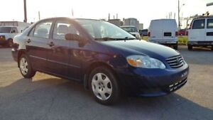 TOYOTA COROLLA 2004 AUTOMATIC AC NO RUST, EXTRA CLEAN