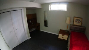Basement furnished room near Southgate for rent to female