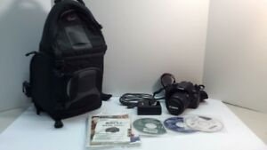 Canon EOS Rebel T3 with Case + Accessories