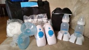 Barely used evenflo electric double breast pump