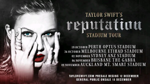 2 Taylor swift tickets