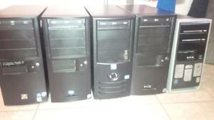 Desktop Computers (5 in Total)