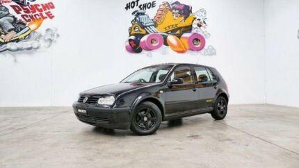 2002 Volkswagen Golf 4TH GEN GL Black Automatic Hatchback