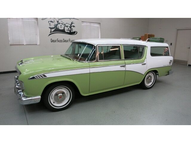 Rare 1956 hudson rambler custom cross country for Cross country motor club phone number