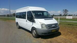 2008 Ford Transit VM MY08 12 Seat White 6 Speed Manual Bus Muswellbrook Muswellbrook Area Preview