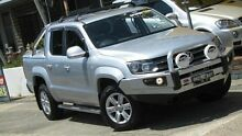 2013 Volkswagen Amarok 2H MY13 TDI400 Highline (4x4) Silver 6 Speed Manual Dual Cab Utility Homebush Strathfield Area Preview