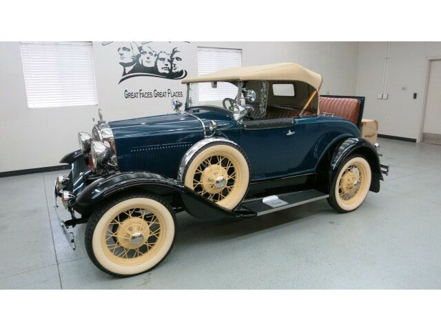 """Ford : Model A Roadster 1931 Ford Model A Roadster 2 Dr. Convertible w/ rumble seat """"over the top"""" resto"""