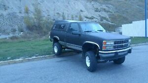 1991 Chevrolet K1500 4X4 *Price dropped to $4000 obo*