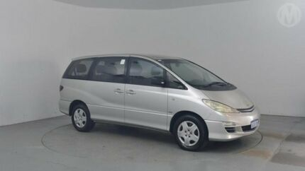 2003 Toyota Tarago ACR30R GLi Silver Leaf 4 Speed Automatic Wagon Perth Airport Belmont Area Preview