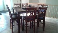 Pub Height Table Set for sale - SOLD