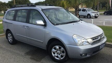 2008 Kia Grand Carnival VQ MY07 EX Silver 5 Speed Sports Automatic Wagon East Rockingham Rockingham Area Preview