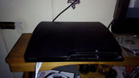 ps3 +8 games and 1 controller. 175$