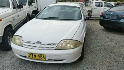 2001 Ford Falcon AU White Automatic Cab Chassis Deagon Brisbane North East Preview