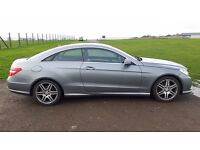 E350 CDI 2 Door Coupe for sale. Full service history. A beautiful car to look at and drive.