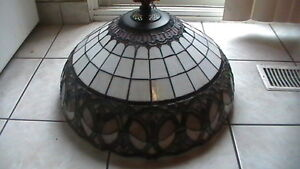 Large Tiffany style Ceiling lamp Kitchener / Waterloo Kitchener Area image 1