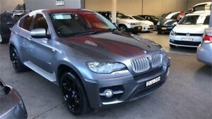2009 BMW X6 E71 xDrive50i Coupe Steptronic Grey 6 Speed Sports Automatic Wagon Revesby Bankstown Area Preview
