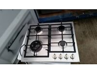 Stainless Steel 'Necht' Gas Hob - Excellent condition / Free local delivery