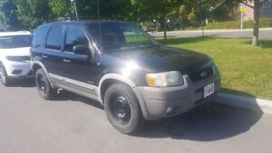 Ford Escape XLT 2002 4x4, Cuire, A/C