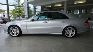 2003 Mercedes-Benz E55 W211 AMG Silver 5 Speed Automatic Sedan Burleigh Waters Gold Coast South Preview
