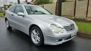2002 Mercedes-Benz C200 CL203 Kompressor 5 Speed Auto Tipshift Coupe Medindie Walkerville Area Preview