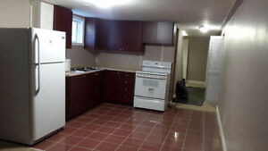 1 bedroom basement available from June 1st near Rutherford queen