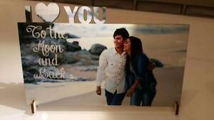 Engraved Customized Frames