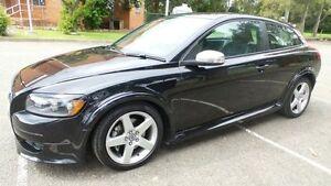 2009 Volvo C30 MY09 LE Black 5 Speed Auto Geartronic Hatchback Granville Parramatta Area Preview