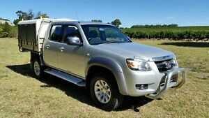 2008 Mazda BT-50 SDX Silver 5 Speed Automatic Utility Tanunda Barossa Area Preview