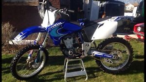 2005 Yamaha YZF450F trade for jet boat speedster