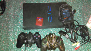 Great condition PS2, 28 games, Memory, Hook Ups