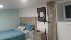 Bedroom, Downtown, No Parking, Modern, Clean, Quiet