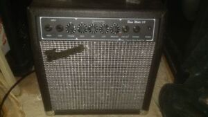 3 PRACTICE AMPS (Guitar and Bass)