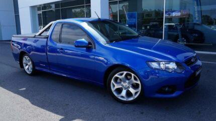 2012 Ford Falcon FG MK2 XR6 Blue 6 Speed Auto Seq Sportshift Utility Port Macquarie Port Macquarie City Preview