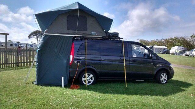 Professionally converted Vito campervan plus camping equipment