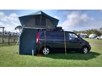 Professionally converted Vito campervan plus camping equipment