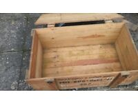 cases wood boxes