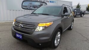 2012 Ford Explorer Limited, Lthr, Moon, Nav, Local Trade In