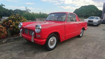 1959 Triumph Herald Deluxe Red 4 Speed Manual Coupe Capalaba Brisbane South East Preview