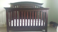 Baby Cache Windsor Crib with Mattress - MUST GO