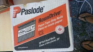 Paslode nails - 2 X .113 count 6500