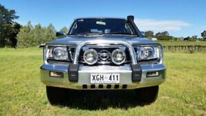 2005 Nissan Patrol GU IV MY05 ST Silver 5 Speed Manual Wagon